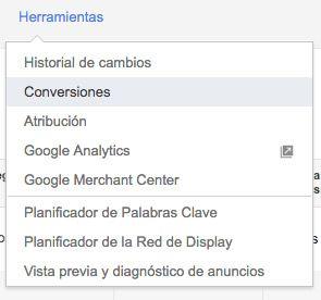 analytics conversiones