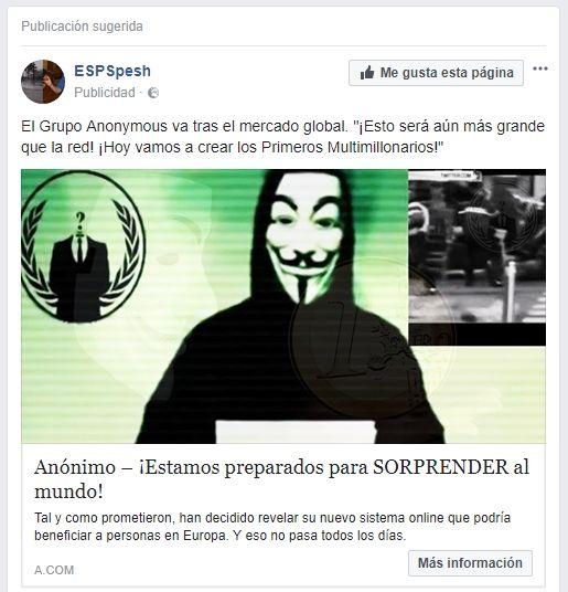 ¿Anonymous Trader es un timo?