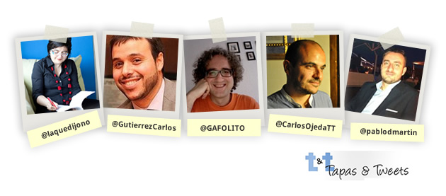 Ponentes Tapas&Tweets