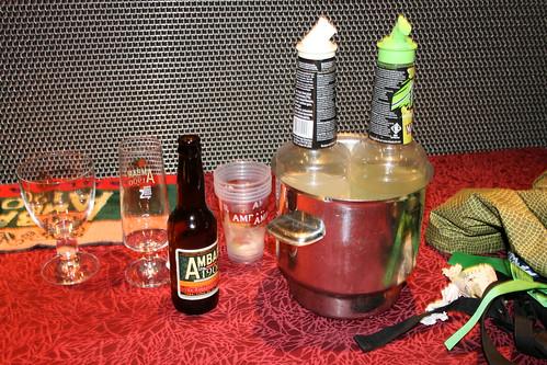 Cocktail a base de cerveza