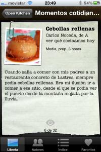 Apps de Cocina