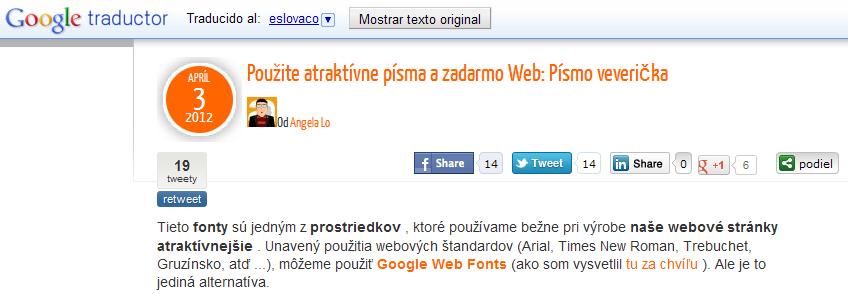 Gtrans, plugin de traducción para WordPress