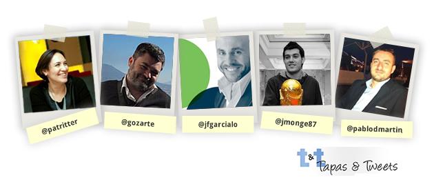 """Ponenetes del VI Tapas and Tweets Zaragoza, """"Tradición, modernidad y turismo"""