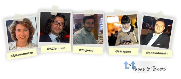 Ponentes Tapas And Tweets Zaragoza
